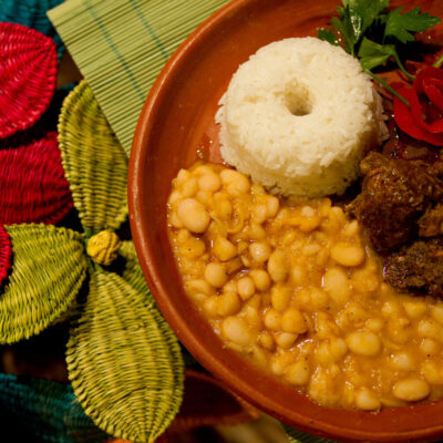 Platos tipicos del restaurante La Tomasita en Piura . (Photo Pilar Olivares)