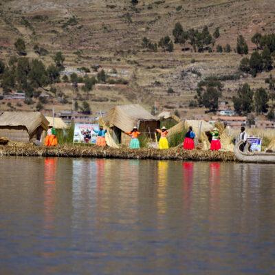 Islas Uros, Puno 7 de Diciembre 2011. Foto: Pilar Olivares/Promperu