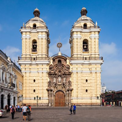 Monastery of San Francisco is located in Lima, Peru