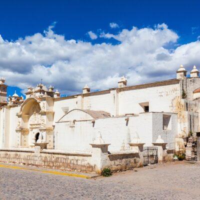 Immaculate Conception Church in Yanque, Peru