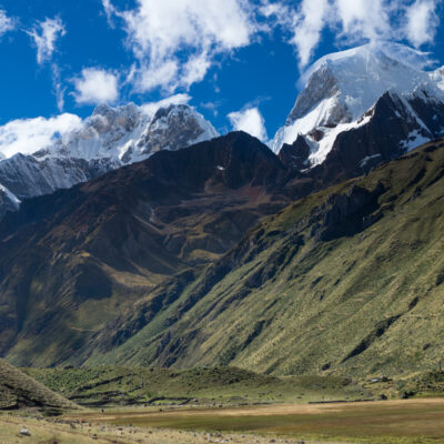 Hiking in Peru, cordillera Huayhuash, Andes