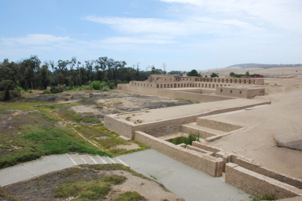 Women's Quarters Inca Ruins in Pachacamac